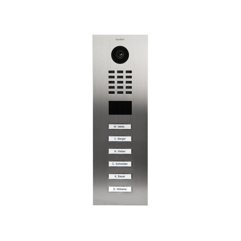 DOORBIRD Portier vidéo IP avec lecteur de badge RFID - Doorbird D2106V Inox - Inox