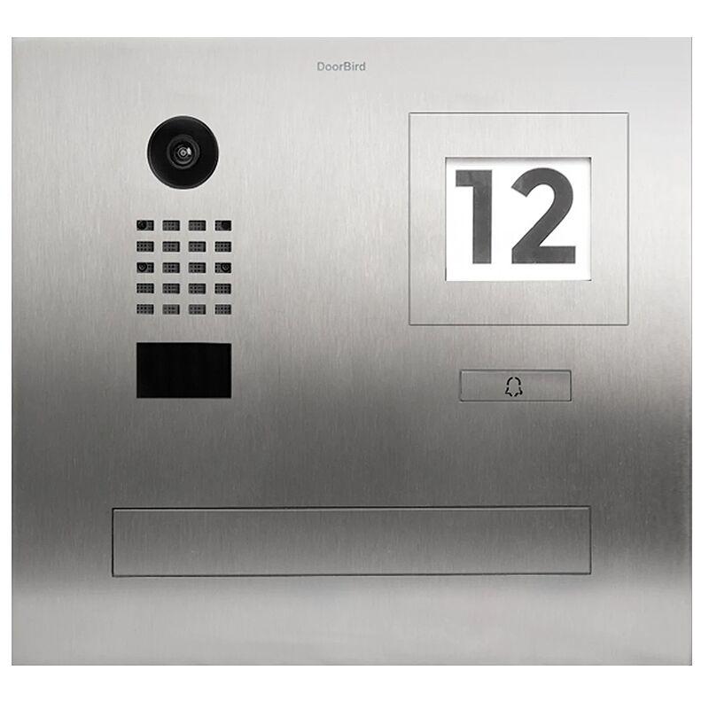 DOORBIRD Portier vidéo IP / boite aux lettres avec Lecteur RFID - D2101FPBI Doorbird