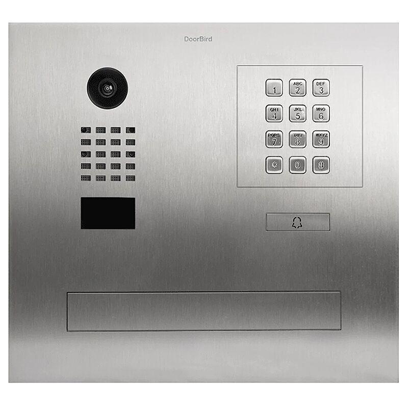 DOORBIRD Portier vidéo IP / boite aux lettres avec Lecteur RFID - D2101FPBK Doorbird