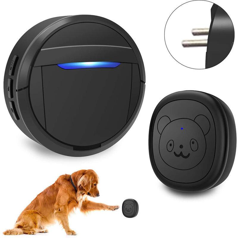 ZQYRLAR Sonnette sans fil, sonnettes de chien pour l'apprentissage de la propreté IP55