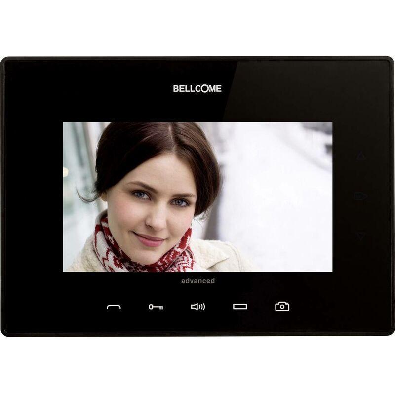 BELLCOME Interphone vidéo Bellcome VTA.7S902.BLB04 filaire Station intérieure noir 1