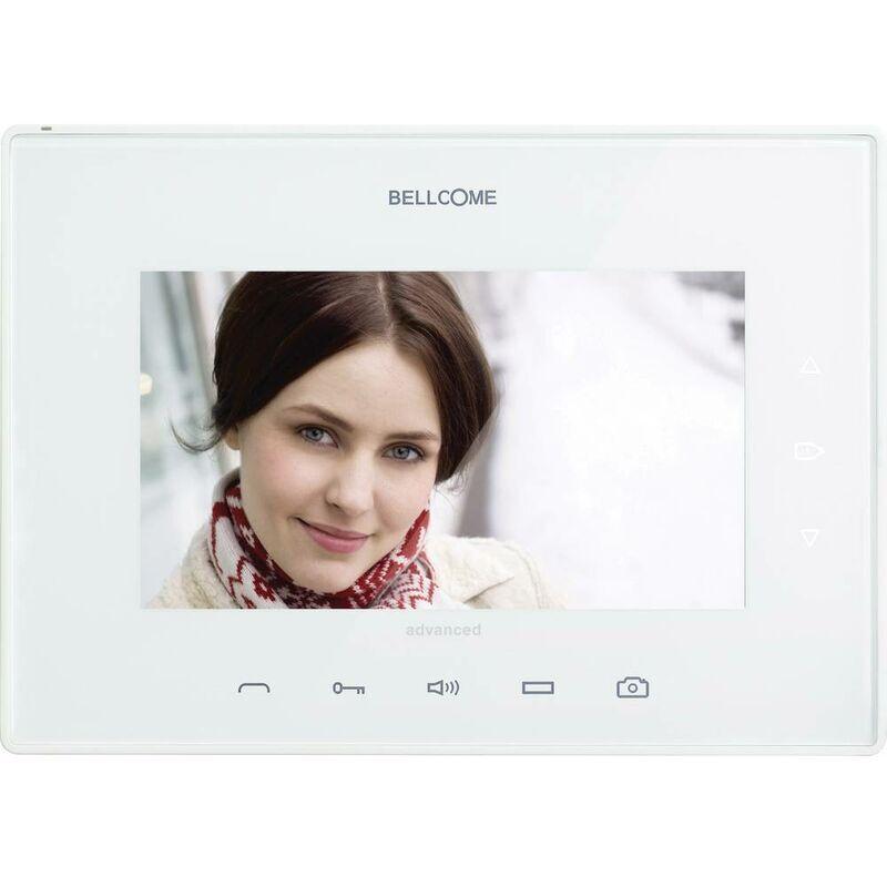 BELLCOME Interphone vidéo Bellcome VTA.7S902.BLW04 filaire Station intérieure blanc 1