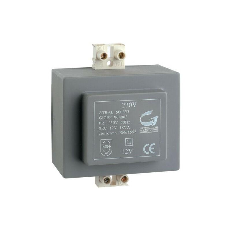 HAGER Transformateur 230V 12V 18VA (A7901)