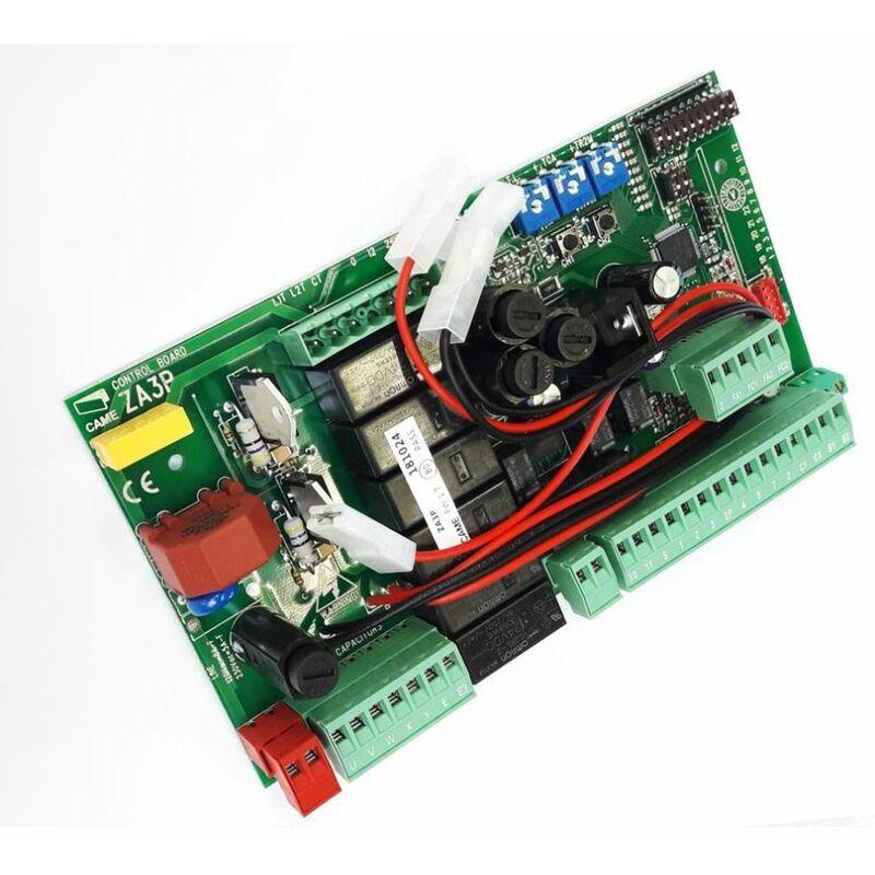 CAME Carte électronique ZA3P pour portail avec 1 ou 2 moteurs 230V - Came