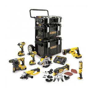 DEWALT Kit premium DEWALT 8 outils 18V 5Ah Li-Ion - DCK853P4 - Publicité