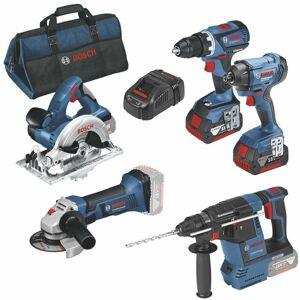 Bosch - kit 5 outils gsr18v-60c gdr - Publicité