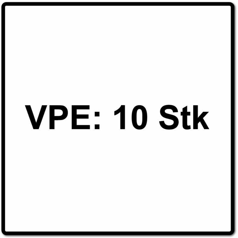 FEIN E-Cut Standard Starlock Plus Lame de scie 50x65mm - 10 pièces ( 63502134240 )