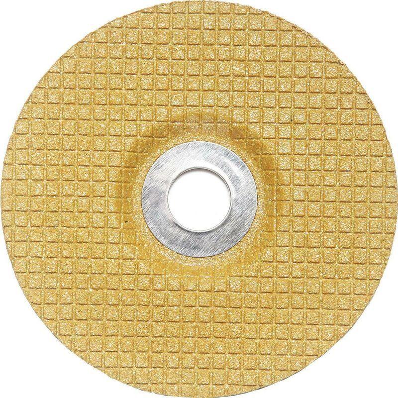 3M DEUTSCHLAND Meule à ébarber Cubitron™ II Flex Grind D125xS3mmGranulation 80 coudée INOX