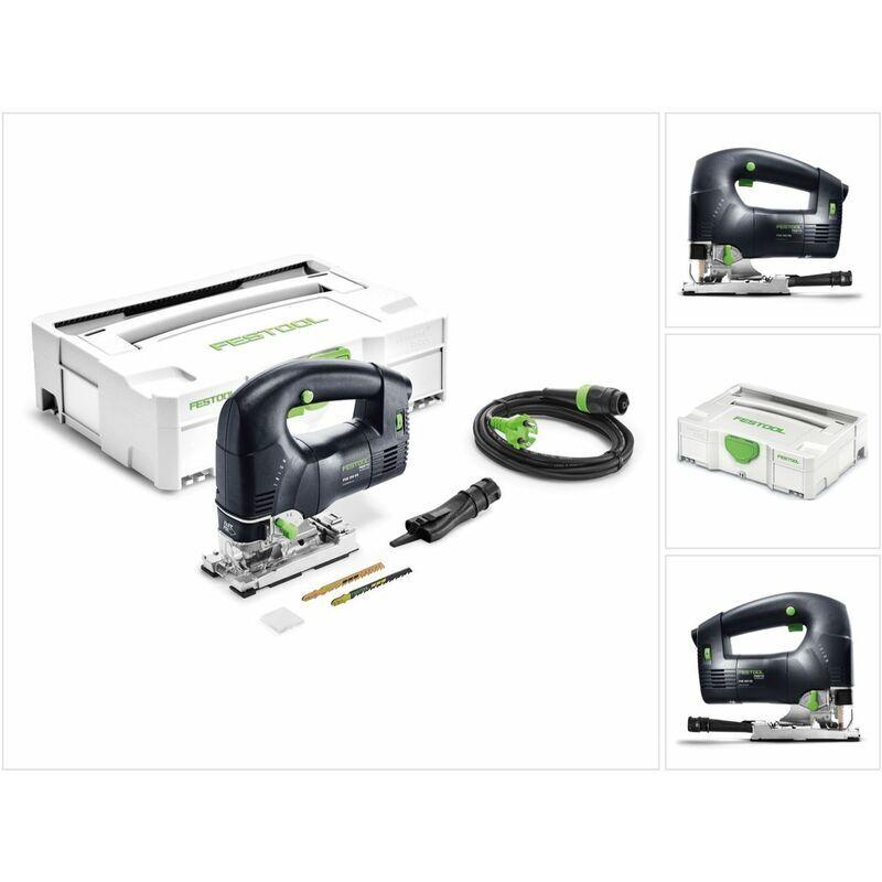 Festool PSB 300 EQ-Plus TRION Scie sauteuse pendulaire 720W + Coffret de
