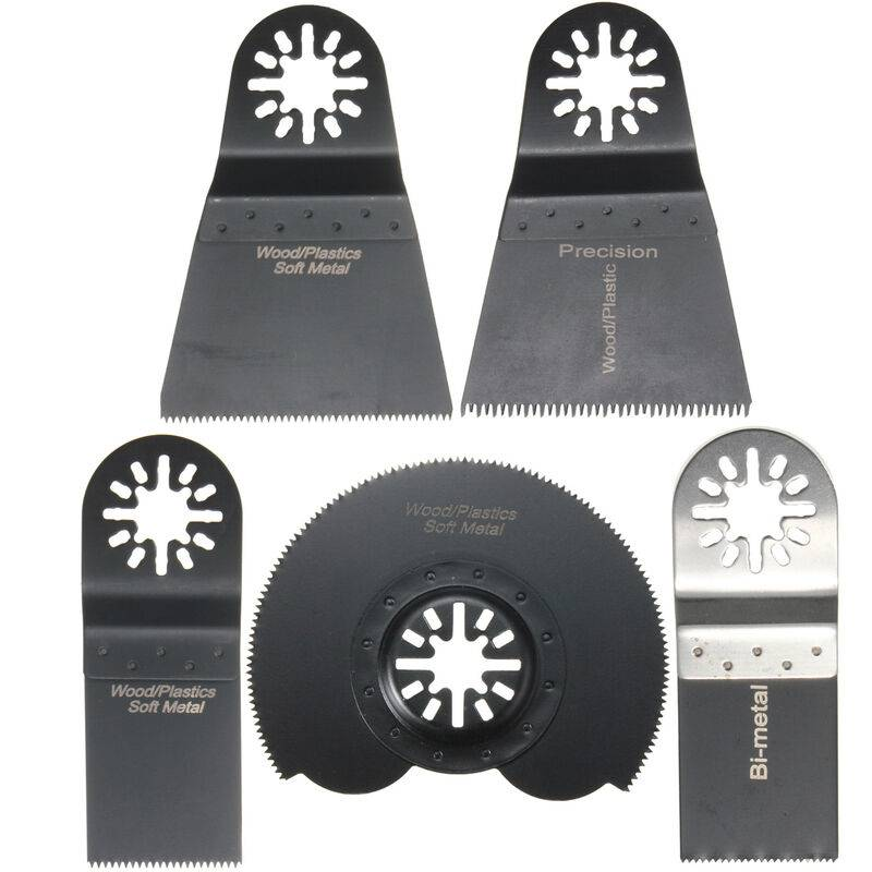 Insma - 5Pcs Lame De Scie Combo Multifonction Oscillants Pour Fein Multimaster