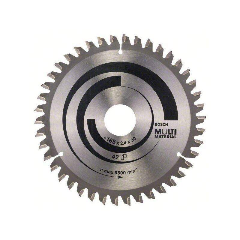 Bosch Lame de scie circulaire Multi Material 165 x 30 x 2,4 mm, 42