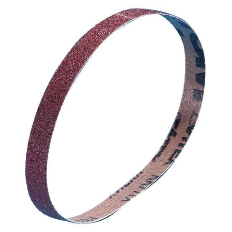 VSM - Abrasifs en bandes courtes et étroites toile KK711X 13x454 mm grain 80 en