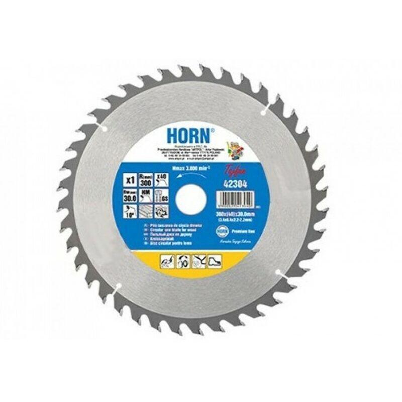 Ad-pol - 230x30.0mm bois scie circulaire dents widia 40z