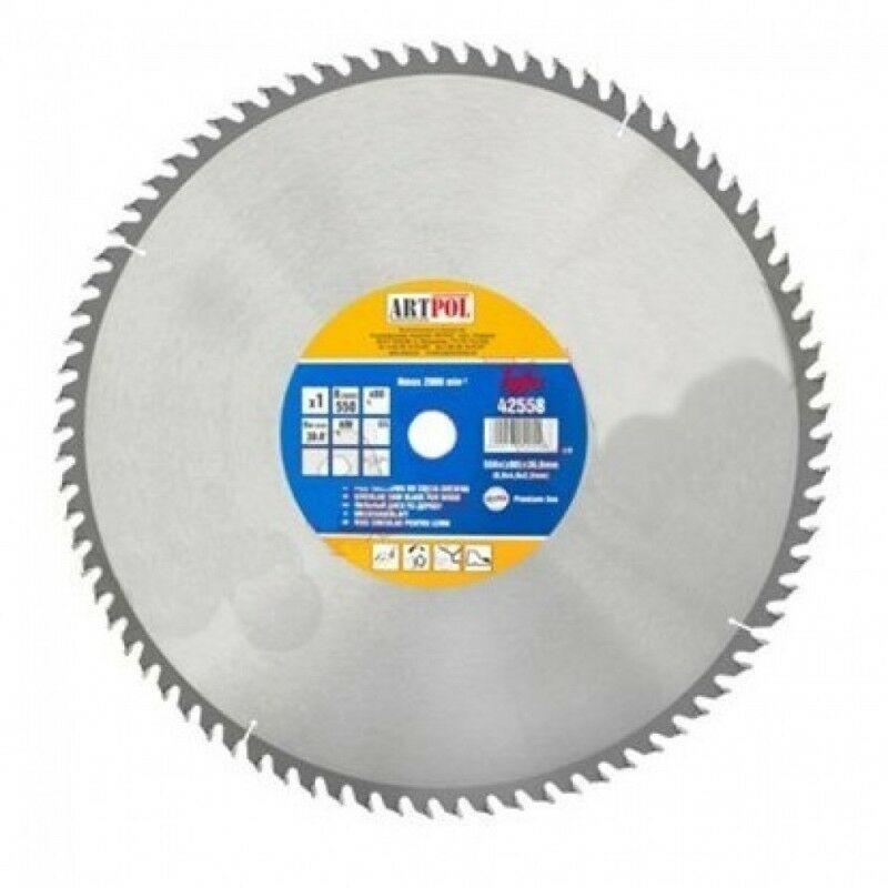 Ad-pol - 500x30 mm dents de scie circulaire à bois 120ia