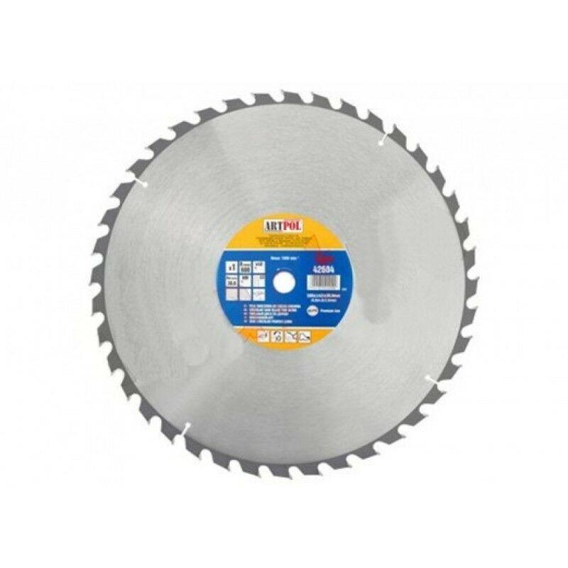 Ad-pol - 600x30 mm dents de scie circulaire à bois widia 40