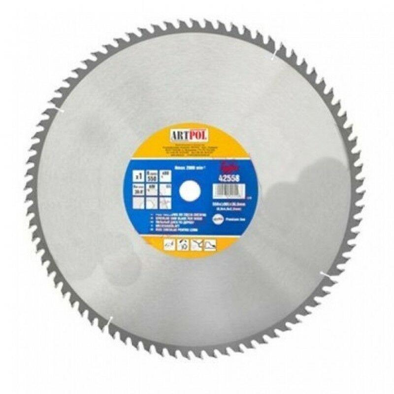 Ad-pol - Scie circulaire à bois 500x30 mm dents widia 80z