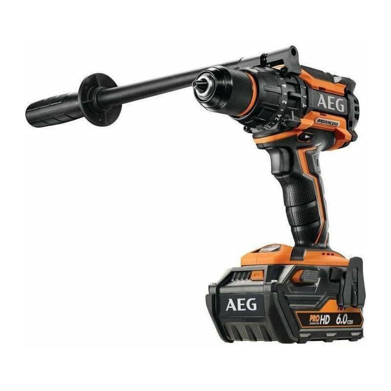 Ryobi - AEG POWERTOOLS Perceuse percu 18V Brushless 140 Nm, 2 x 6,0 Ah HD
