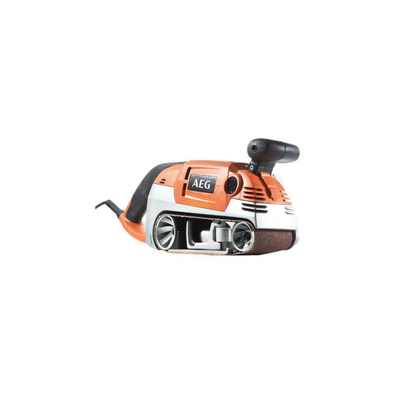A.e.g - Ponceuse à bande électrique AEG 1010W 75mm HBS 1000 E