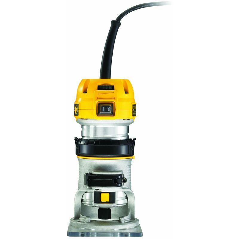 DEWALT Affleureuse - 900 W - 27000 t/min - 6-8 mm - DEWALT, D26200-QS