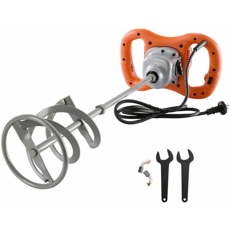 AREBOS Mixeur de mortier Malaxeur 1600 W - orange