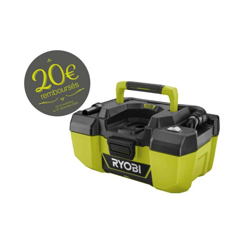 RYOBI Aspirateur d'atelier RYOBI 18 V One Plus - sans batterie ni chargeur R18PV-0