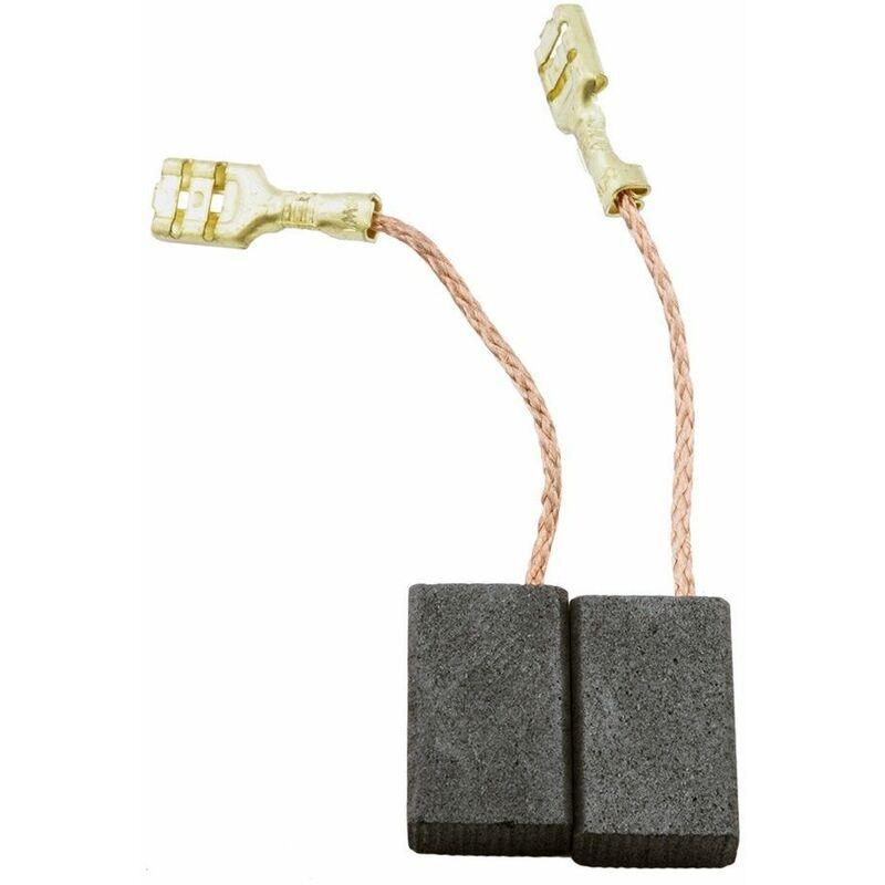 A.E.G Balais de Charbon pour AEG Meuleuse AG1200-125 - 5x10x16mm