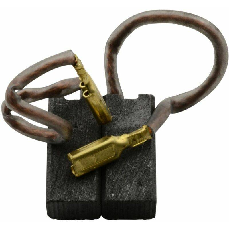 BLACK & DECKER Balais de Charbon pour Black & Decker 5054LA - 6x8x18mm