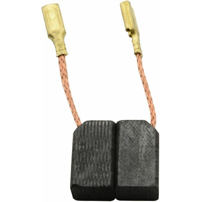 BLACK & DECKER Balais de Charbon pour Coupeuse/Scie PL80 - 6,3x8x13,5mm - Black&decker