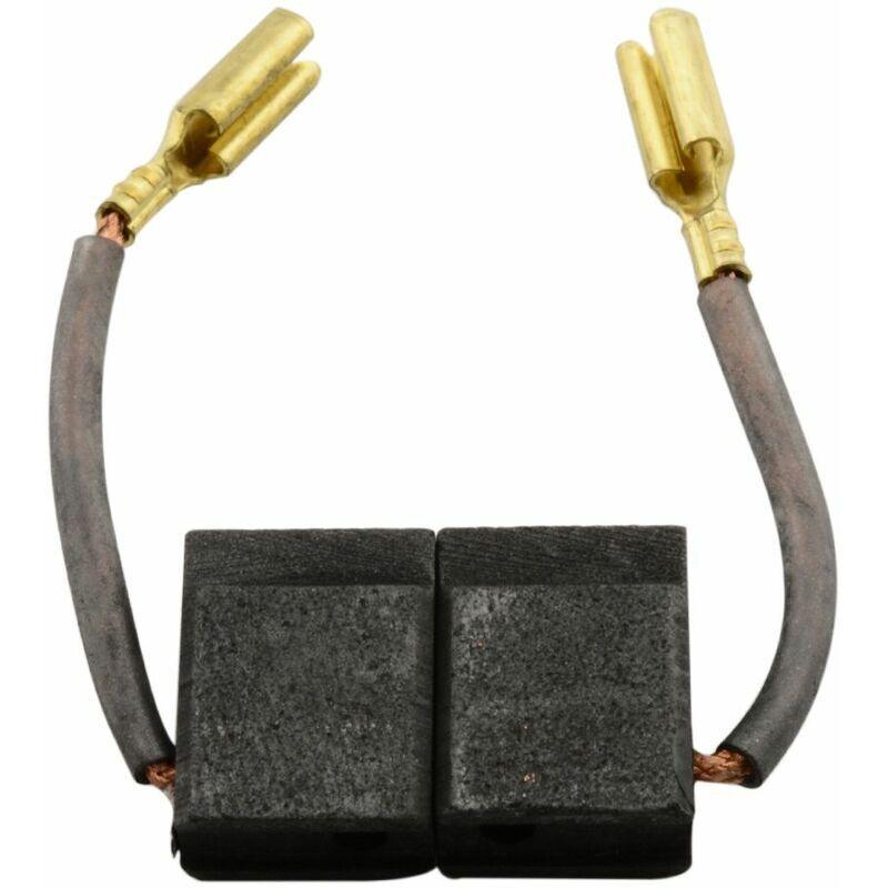 Buildalot - Balais de Charbon pour Black & Decker D25203 KB2 - 5,2x9,5x12,7mm