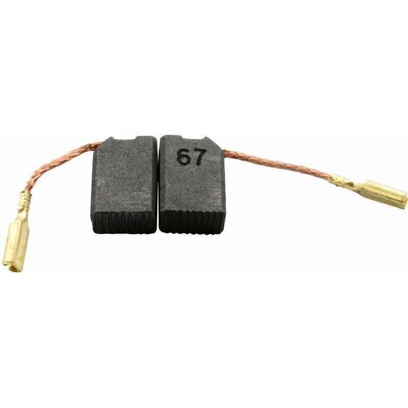 Buildalot - Balais de Charbon pour Black & Decker KG100 - 6,3x10x14mm