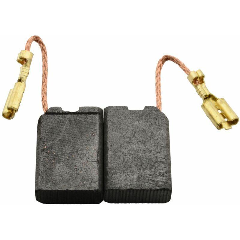 Buildalot - Balais de Charbon pour Black & Decker PL12E - 6,3x14x20mm