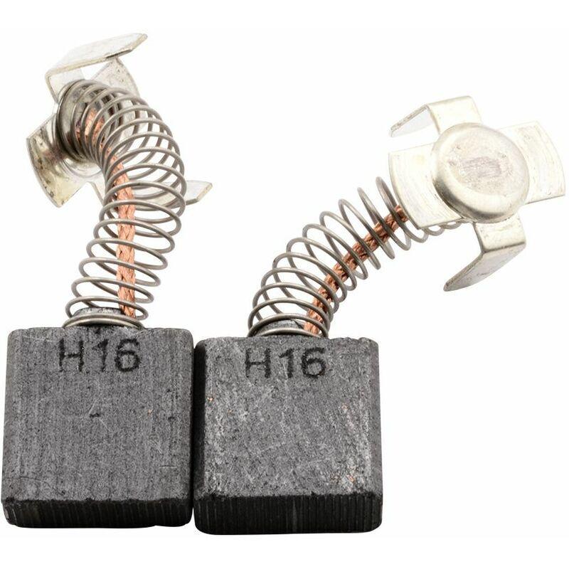 HITACHI Balais de Charbon pour Hitachi Marteau H 65 - 7x17x17mm