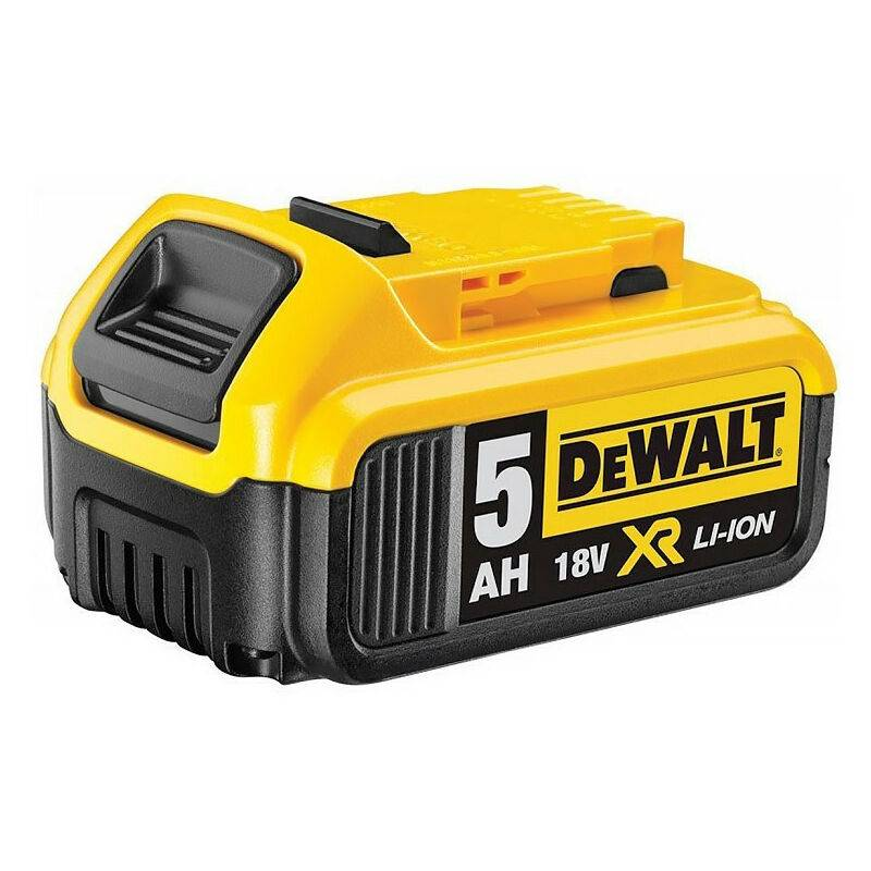 DEWALT Batterie pour outil sans fil 18V XR Li-Ion 5,0 Ah - DEWALT DCB184