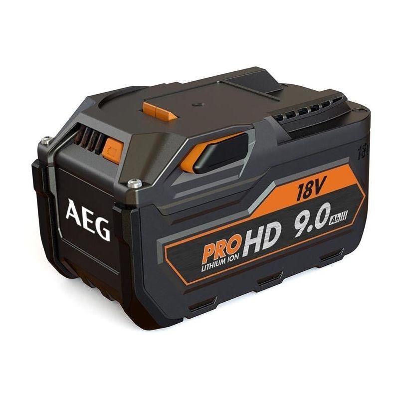 Aeg Powertools Batterie 18 Volts 9,0 Ah Li-Ion (Systeme Gbs)