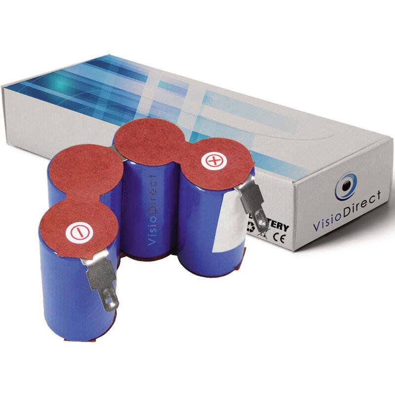 Visiodirect - Batterie pour AEG aspirateur sans fil 3000mAh 4.8V