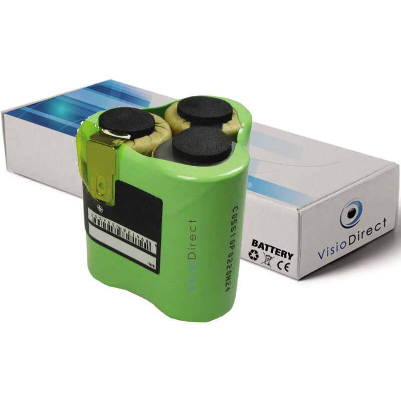 Visiodirect - Batterie pour AEG Liliput AG1413 aspirateur sans fil 3000mAh 3.6V