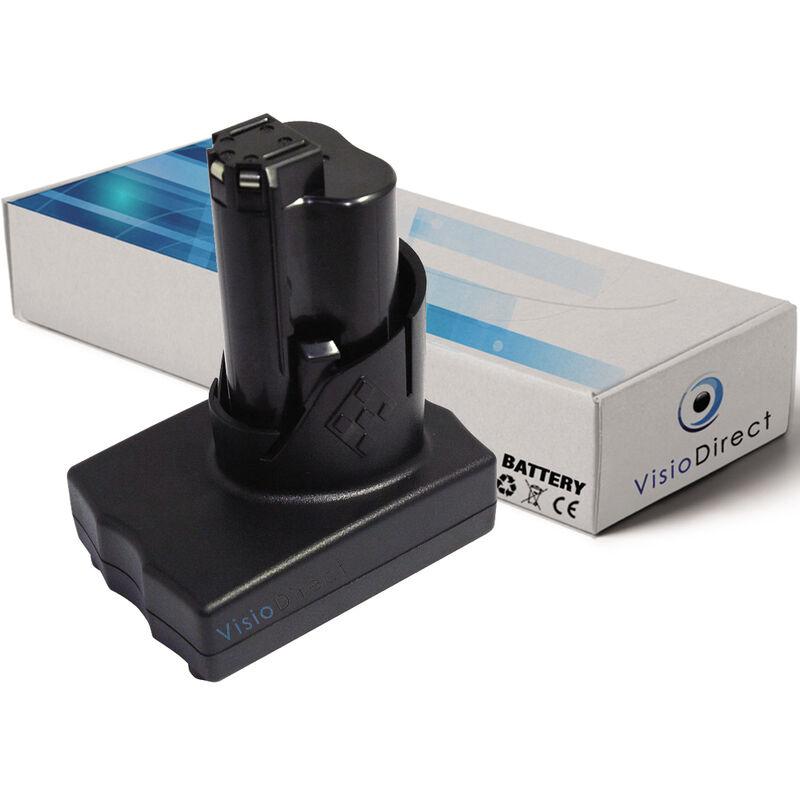 Visiodirect - Batterie pour AEG Milwaukee 2455-20 visseuse sans fil 3000mAh 12V