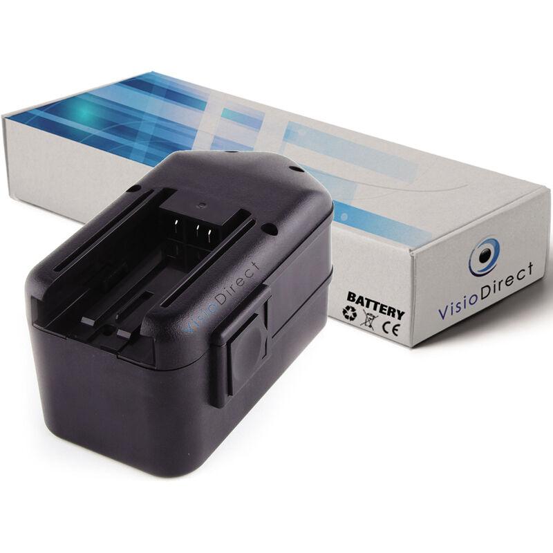 Visiodirect - Batterie pour AEG SB2E 18 STX perceuse sans fil 3300mAh 18V