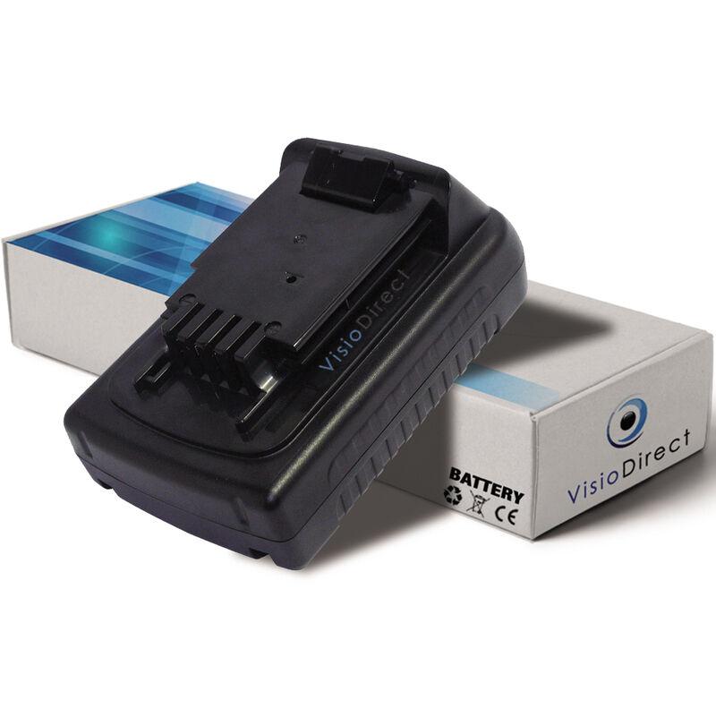 VISIODIRECT Batterie pour Black et Decker ASL186K perceuse sans fil 1500mAh 18V