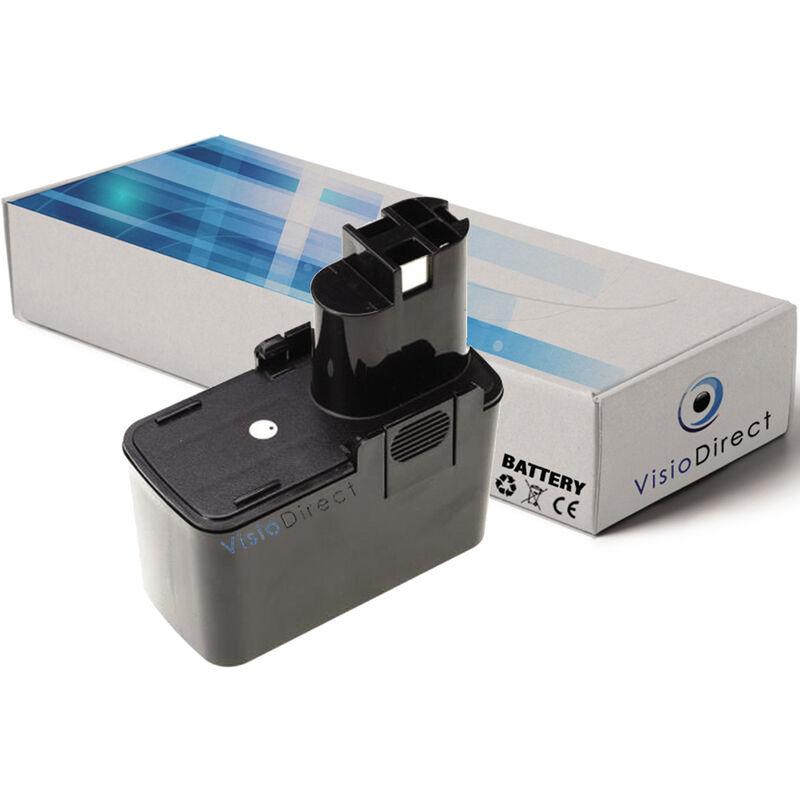 VISIODIRECT Batterie pour Bosch PSR 7.2V ES-2 perceuse visseuse 3000mAh 7.2V