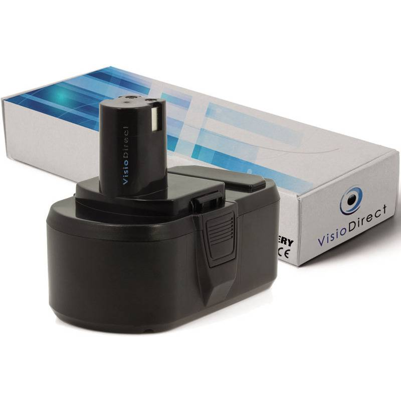 Visiodirect - Batterie pour Ryobi LCD1802 perceuse visseuse 3000mAh 18V