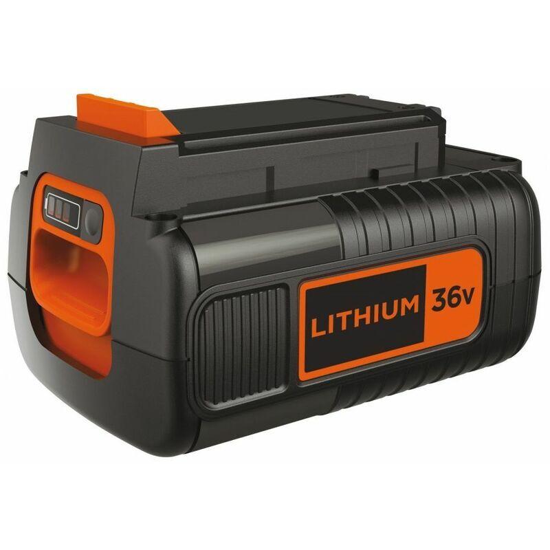 Dewalt - Batterie lithium 36V 2Ah Black + Decker BL20362XJ Avec effet mémoire