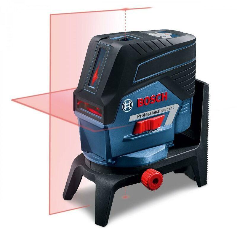 BOSCH Laser combiné BOSCH GCL 2-50 C Professional + Support RM2 - 0601066G00