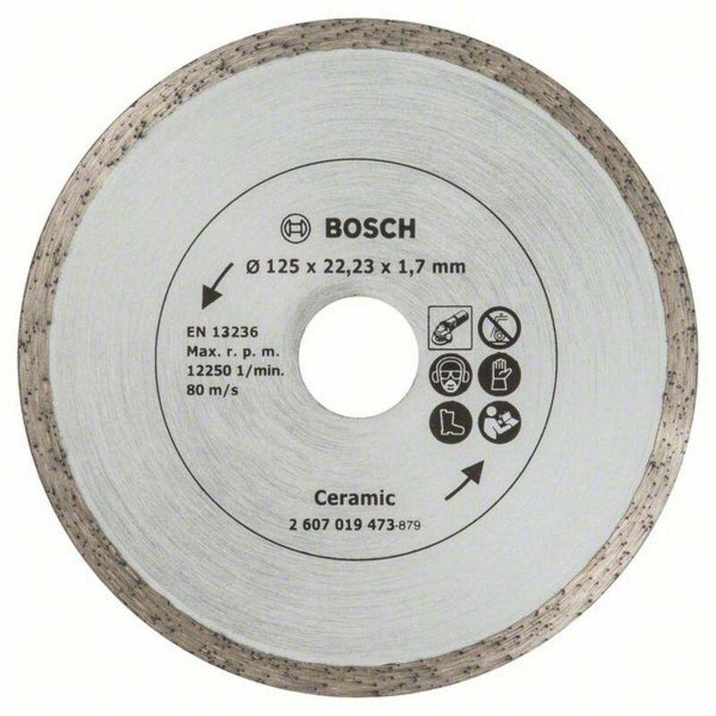 BOSCH ACCESSORIES Disque diamant carrelage Ø125 mm Bosch TS 2607019473