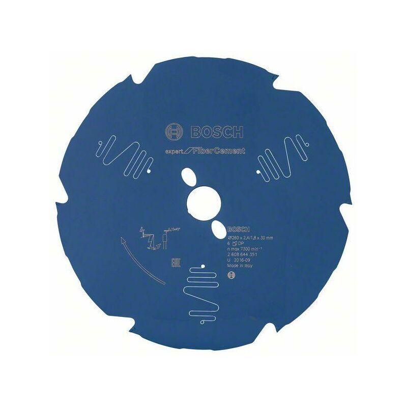 Bosch Lame de scie circulaire EX FC B, 260x30-6, 260 x 30 mm, 6 - 2608644351