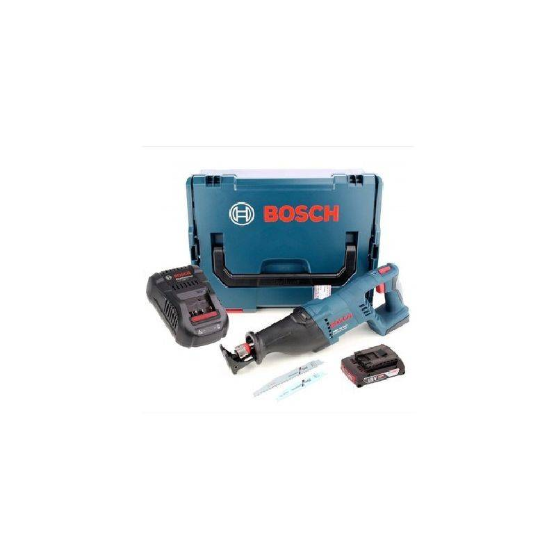 Bosch GSA 18 V-LI Professional 18 V Scie sabre sans fil avec botier L-Boxx + 1x