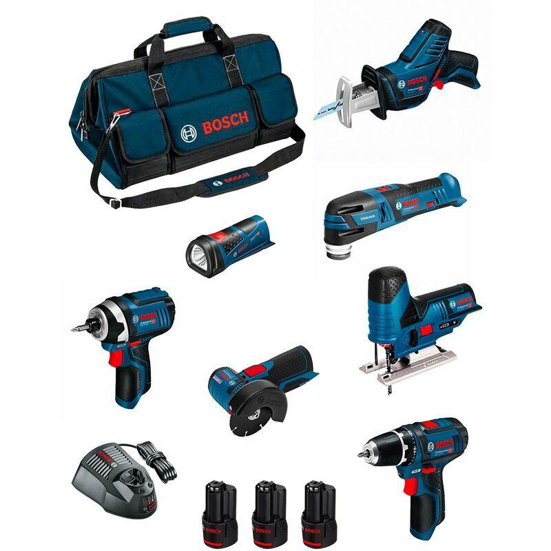 BOSCH Kit BMKB7-28BD3 (GSR 12V-15+GDR 12V-105+GWS 12V-76+GST 12V-70+GOP