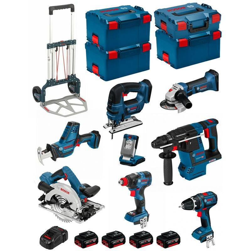 BOSCH Kit PSL8P4C+Caddy