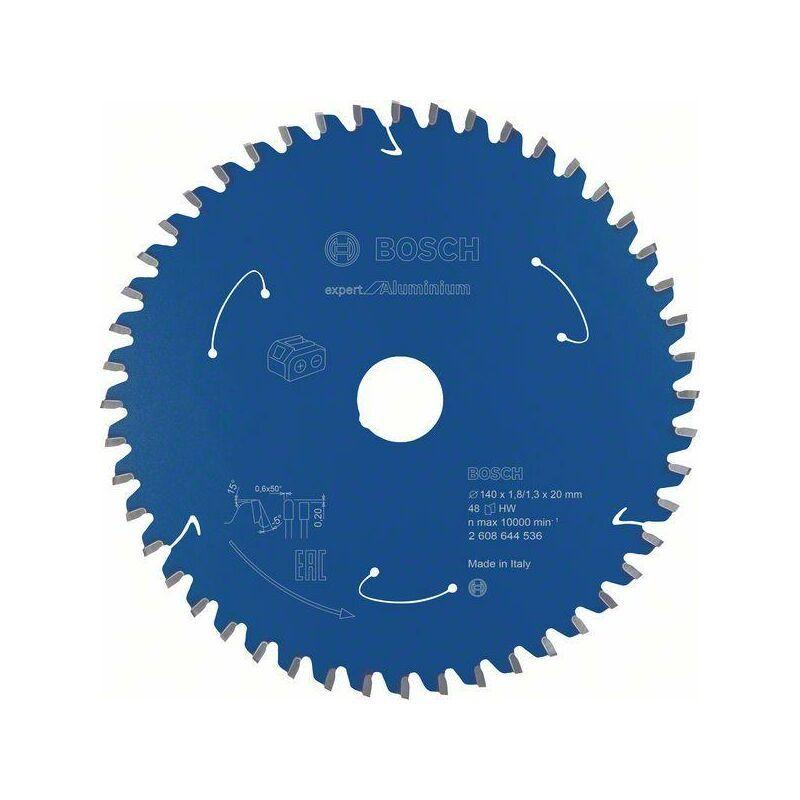 Bosch Lame de scie circulaire Expert for Aluminium pour scies sans fil, 140 x