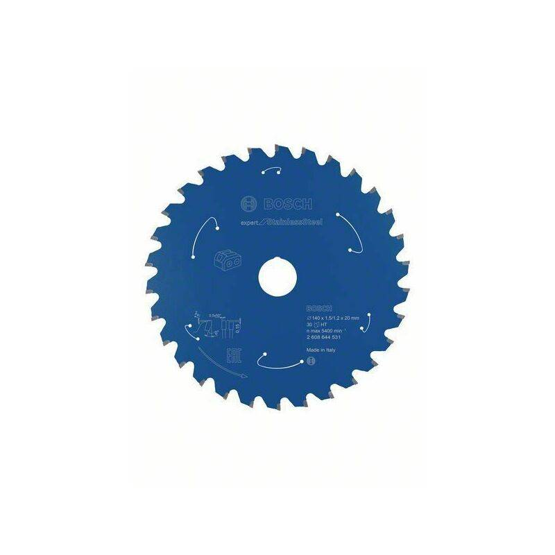 Bosch Lame de scie circulaire Expert for Stainless Steel, 140 x 1,5/1,2 x 20,